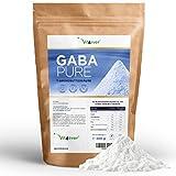 Gaba Pure, 300 g reines Pulver ohne Zusätze, 100% Gamma-Aminobuttersäure, 100 Portionen, Laborgerpüft, Vegan, Premium Qualität, Vit4ever