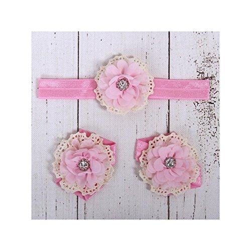 La panoplie Des Petits, Mädchen Babyschuhe - Krabbelschuhe & Puschen  Fuchschia Einheitsgröße rosa