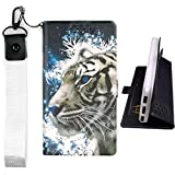 Lovewlb Case for Ruggear Rg725 Cover Flip PU Leather +
