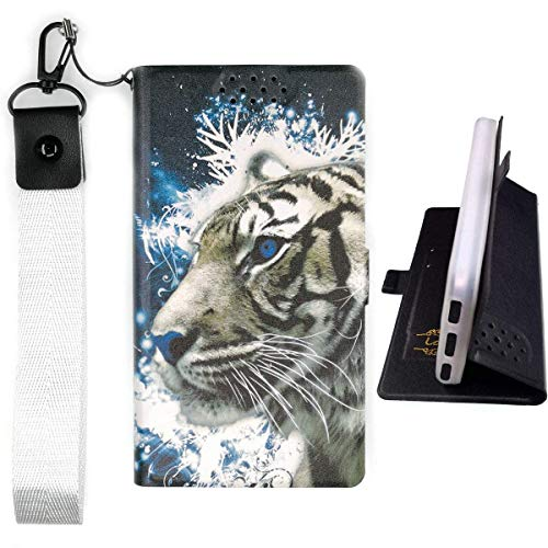 Lovewlb Hülle für Energizer Hardcase H500s Hülle Flip PU-Leder + Silikon Cover Case Fest LH