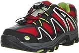 ConWay Kinder Jugend Trekkingschuhe Outdoorschuhe rot, Farbe:Rot;Größe:32