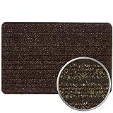 Fußmatte Türvorleger Fußabtreter Türmatte ATLAS in 40x60 50x80, Farben:Braun, Größen:ca. 50 x 80 cm