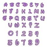 Smartfox 36tlg. Ausstecherset Ausstechformen mit Buchstaben