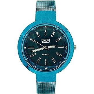 Eton 3081L Turq – Reloj para mujeres, correa de metal color azul