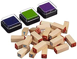 Small Foot Company 8140 - Stempel-Set Buchstaben