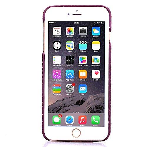 """MOONCASE iPhone 6 Case Hard Shell Cover Housse Coque Etui Case pour iPhone 6 (4.7"""") Violet Violet"""