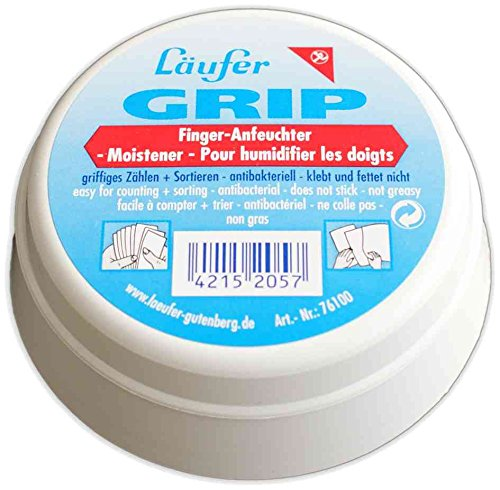 """Läufer Fingeranfeuchter \""""GRIP\"""" in Dose, Inhalt: 20 g"""
