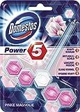 Domestos WC-Stein Power 5 Pinke Magnolie, 9er Pack (9 x 55 g)