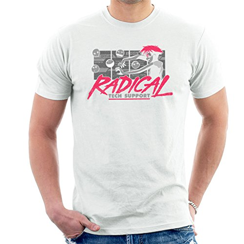Cowboy Bepop Edward Radical Tech Support Men's T-Shirt Mens Tech Support