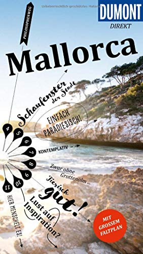 DuMont direkt Reiseführer Mallorca: Mit großem Faltplan