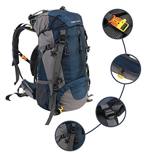 70L wandern Rucksack Wasserdicht Outdoor Sports Daypacks mit Regen Abdeckung für Camping Angeln Travel Klettern Bergsteigen Radfahren Skifahren 70Lbuebag1700759003