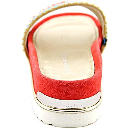 Donald J Pliner Cava 2 Stoff Sandale Red/Multi