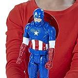 Hasbro Avengers B6153ES0 - Titan Hero Figur Captain America, Actionfigur -