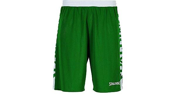 Spalding 300502504/_M Shorts Vert//Blanc M Homme