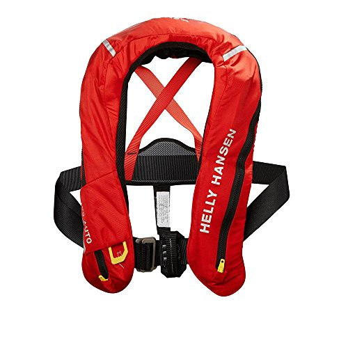 Helly Hansen Unisex - Erwachsene Sailsafe Inflatable Inshore Schwimmweste, Alert Red, One-Size -