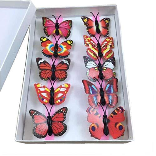 rbe Schmetterlings-Haar-Clips Nette Hairpin Für Hochzeit Frauenhaar-Zusätze Für Mädchen-Kind-Frauen ()