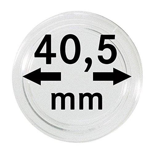 Lindner 2250405P Münzkapseln 40,5 mm-10er-Packung