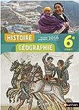 Histoire-Géographie 6e - Nouveau programme 2016