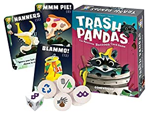 Gamewright Trash Pandas - Tarjeta de Juego