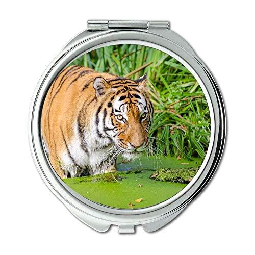 Yanteng Spiegel, Taschenspiegel, Tier Raubkatze, Taschenspiegel, tragbarer Spiegel