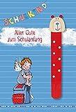 Alles Gute zum Schulanfang: Glückwunschkarte mit Lesezeichen