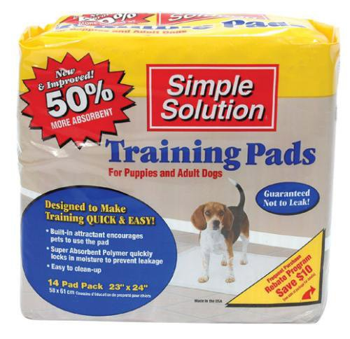 Artikelbild: Simple Solutions Puppy Schulungs-Pads (Pack Größe: 14 Pack), einen Artikel