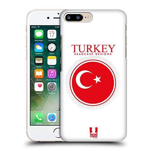 Head Case Designs Drapeau Du Galles Drapeaux - Set 2 Étui Coque D'Arrière Rigide Pour Apple iPhone 5 / 5s / SE Drapeau De La Turquie