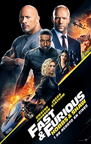 Fast & Furious: Hobbs and Shaw - Edición Especial Metal (BD + BD EXTRAS) [Blu-ray]