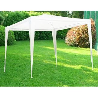 Gazebo tenda in metallo metri 3×3 telo impermeabile per campeggio fiera terrazzo pic nic