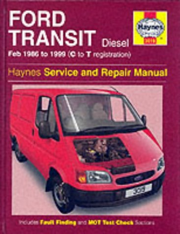 Ford Transit, February 1986 to 1999 (C to T registration)