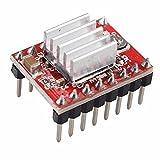 LIUXINDA-MK Sehr praktische 3D-Drucker ein 4988 Arduino Stepstick Reprap Schrittmotortreiber Modul mit Kühlkörper
