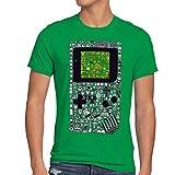 style3 8-Bit Game Camiseta para hombre T-Shirt pixel boy, Talla:M, Color:Verde