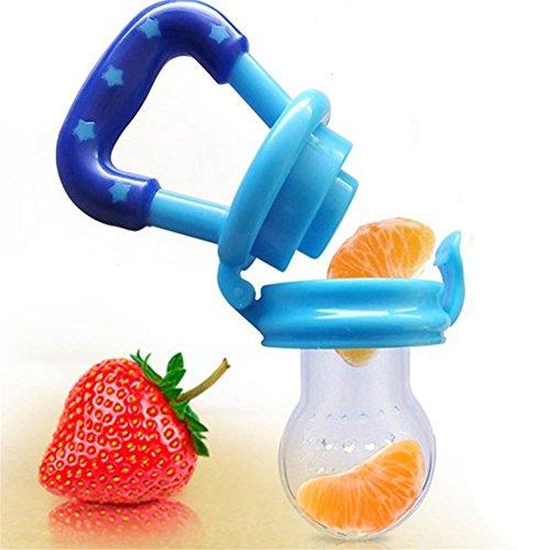 Foerteng silicone bite Safe food feeder ciuccio capezzolo Trainning Tool con verdure e frutta per bambini neonati