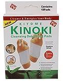 20X Detox Pads: 2X Confezione da 10-Kinoki entgiftende Plaster/Detox cerotto per i piedi-L' originale pubblicità tv-Ingredienti Naturali Disintossicare il corpo, semplice da usare
