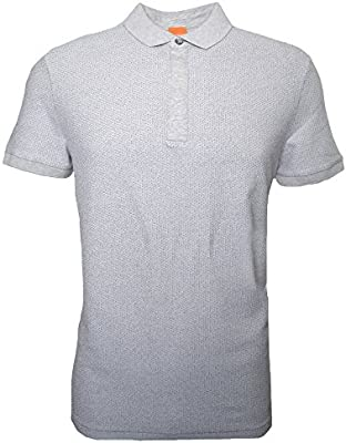 Hugo Boss Men's Hugo Boss Orange Men's Persys Natural Polo Shirt