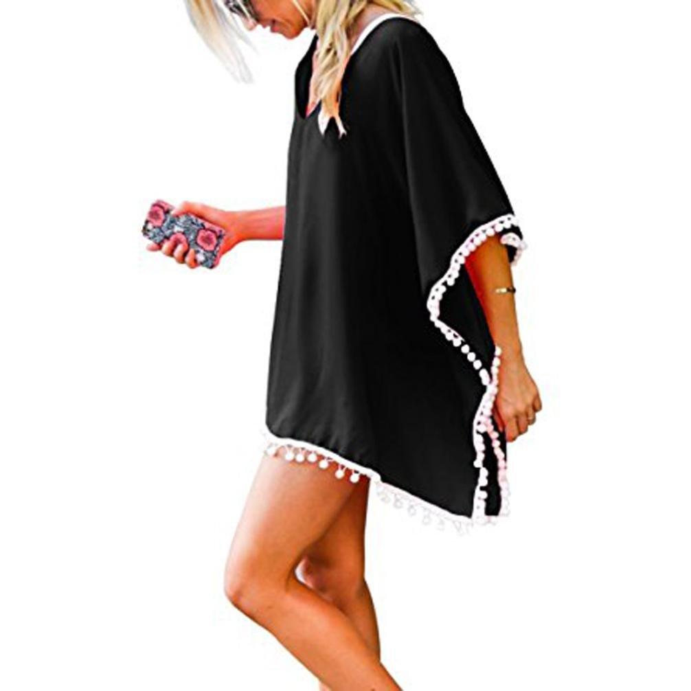 timeless design f7059 c6be5 beautyjourney Copricostume Mare Donna Vestiti Spiaggia Donna Vestito Lungo  Donna Copricostume Pizzo Donna Vestito Lungo Donna Estivo - Spiaggia ...