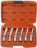 Famex 14870 - Chiave speciale con snodo per candelette, 8 - 16 mm, 6 pz