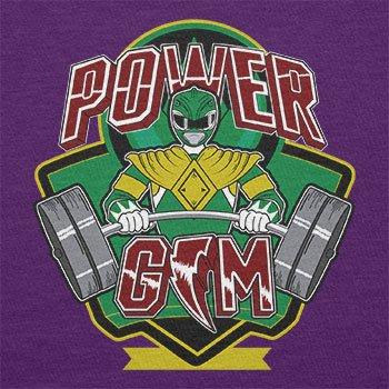 TEXLAB - Power Gym - Herren T-Shirt Violett