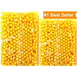 HALO NATION® 6 MM Plastic BB Bullets for Toy Guns & Air Gun - 1000 Pcs (Yellow)