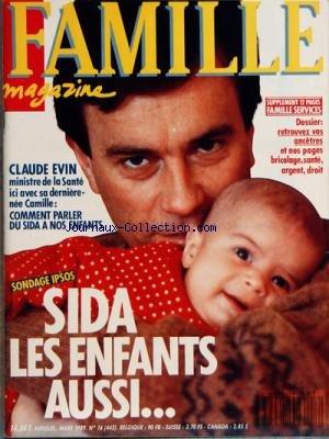 FAMILLE MAGAZINE [No 16] du 01/03/1989