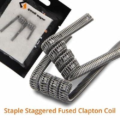 Geek Vape Staple Staggered Fusion Clapton Coil Fertigwickelung von GeekVape