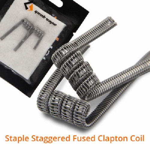 Geek Vape Staple Staggered Fusion Clapton Coil Fertigwickelung