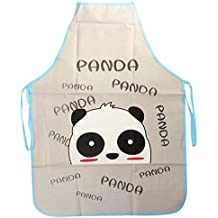 Bluelover Lovely Cartoon impermeabile Grembiule da cucina Ristorante Home Donna Grembiuli Panda - Commerciale Spargisale