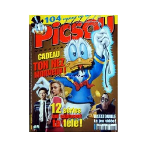 PICSOU MAGAZINE [No 428] du 01/09/2007 - 12 SERIES QUI EXPLOSENT TA TELE - RATATOUILLE / LE JEU VIDEO