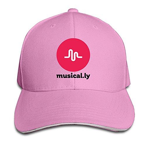 teenmax-unisex-musically-logo-sandwich-peaked-baseball-cap