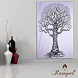 Rawyal Tapisserie-Bild, Baum des Lebens, Hippie-Stil, Zum Aufhängen, Wan...