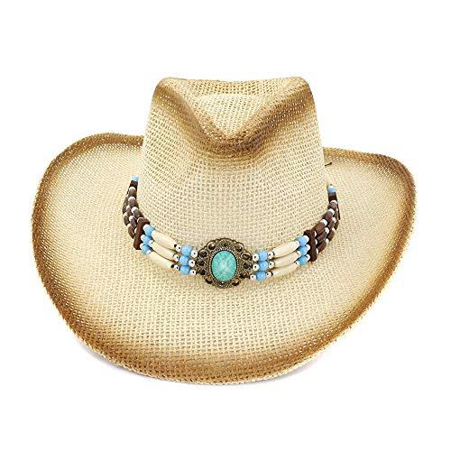 youjiu Cowboyhut, Strandhut, Sonnenhut, Cowboyhut, männlicher Sonnenhut @ Beige_One - Mafia Männliche Kostüm