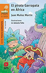 El pirata Garrapata en África par  Juan Muñoz Martín