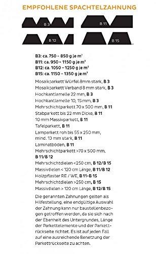 Bostik Parfix Elastic Universal Parkett Klebstoff 17.0kg Eimer