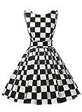Dressystar Robe à 'Audrey Hepburn' Classique Vintage 1950S Style